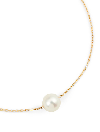 REDLINE Sensuelle Akoya 18K Gold Chain Bracelet With Pearl Women's Metallic