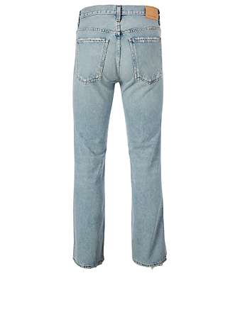 CITIZENS OF HUMANITY Daphne Stovepipe High-Waisted Jeans Women's Blue