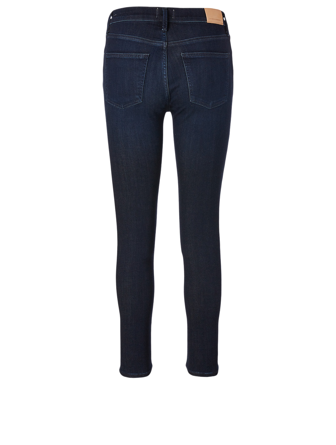 CITIZENS OF HUMANITY Rocket Ankle Skinny Jeans Women's Blue