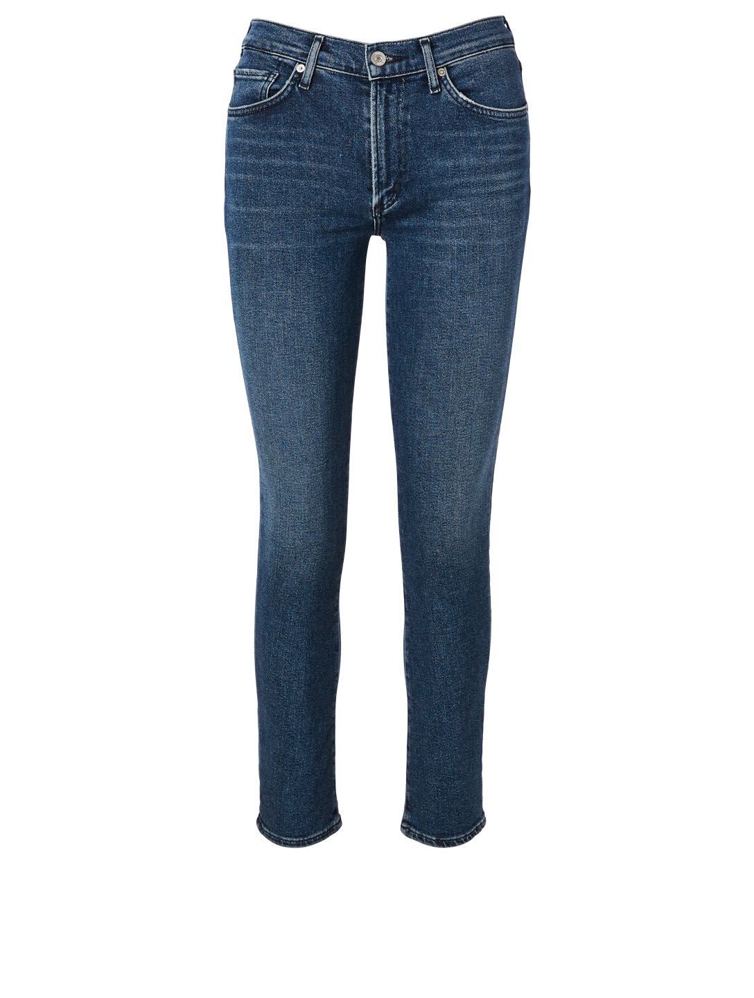 CITIZENS OF HUMANITY Skyla Mid-Rise Cigarette Jeans Women's Blue