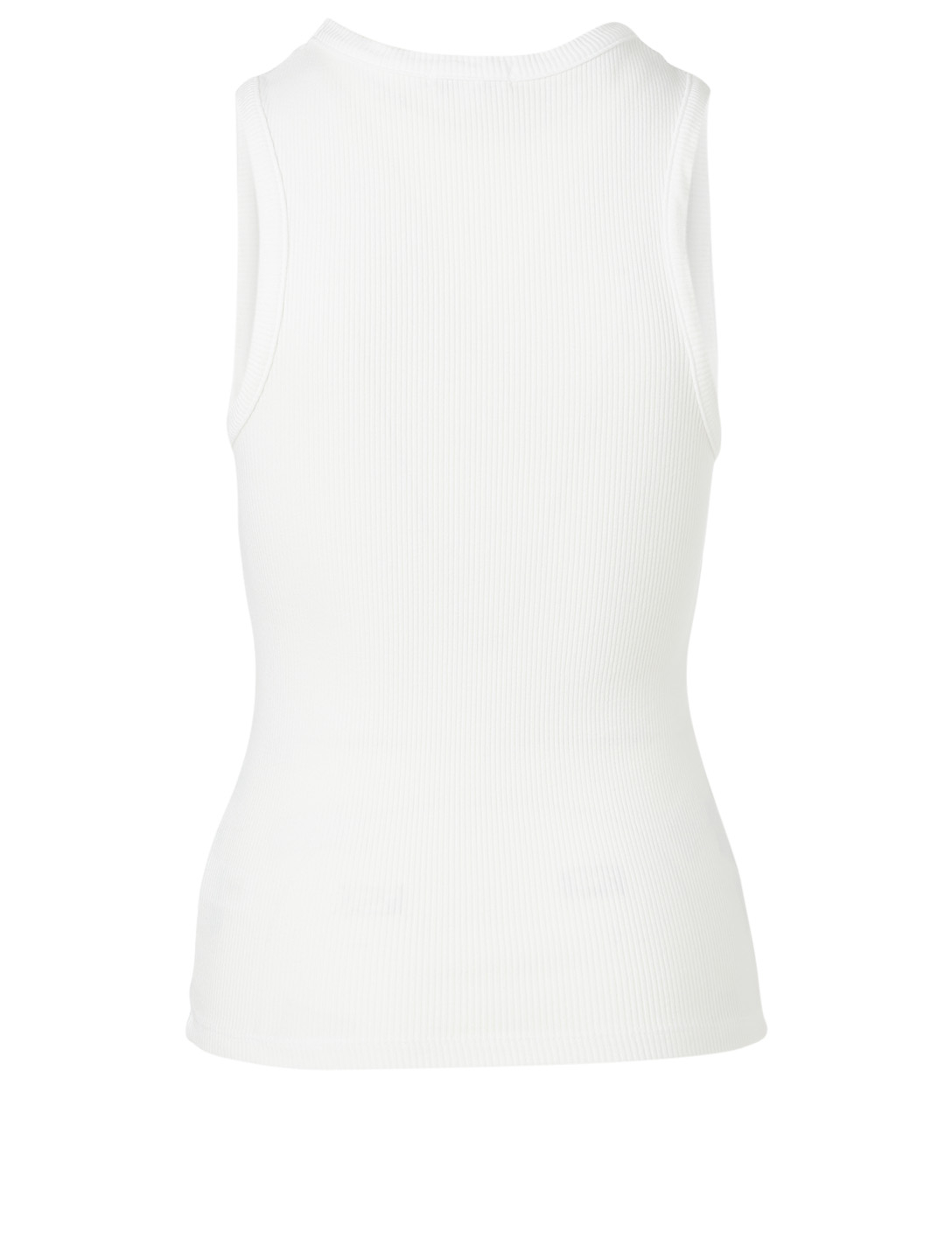 AGOLDE Poppy Scoop Tank Top Women's White