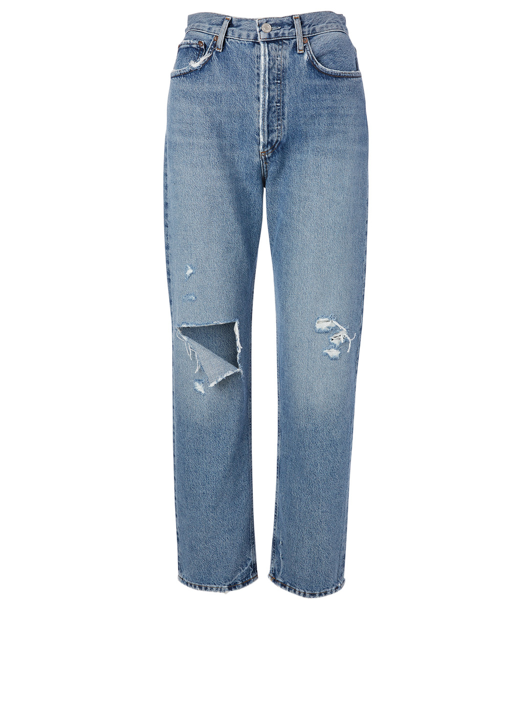 AGOLDE 90s Pinch Waist High-Waisted Jeans Women's Blue