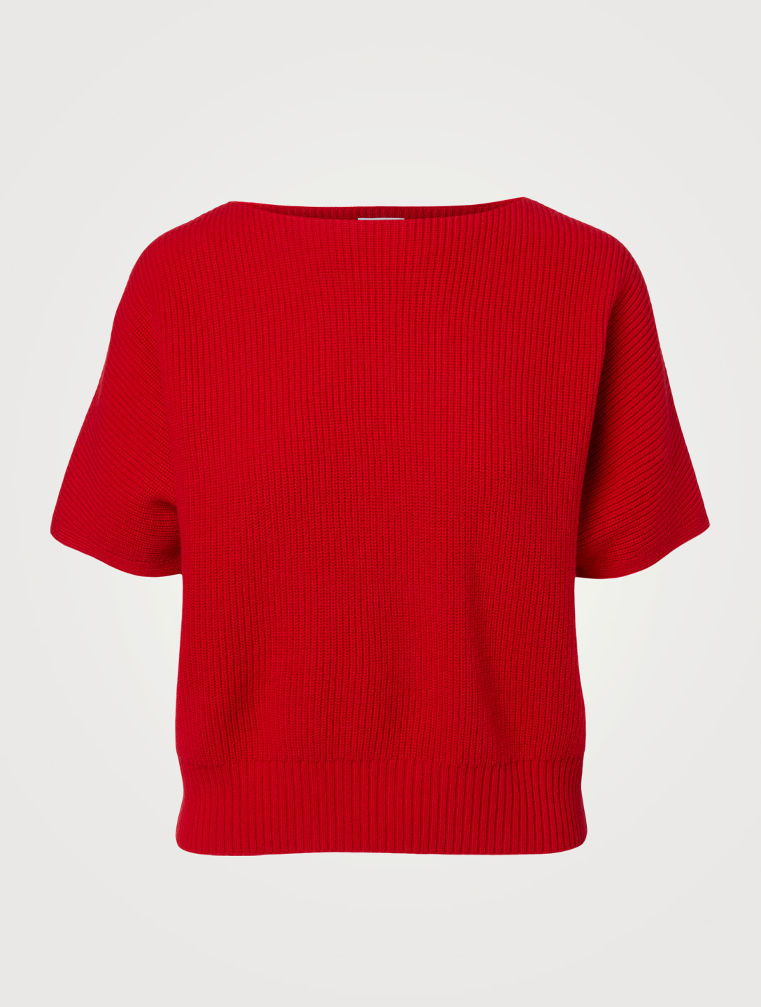 AKRIS PUNTO Wool And Cashmere Cropped Sweater Women's Red