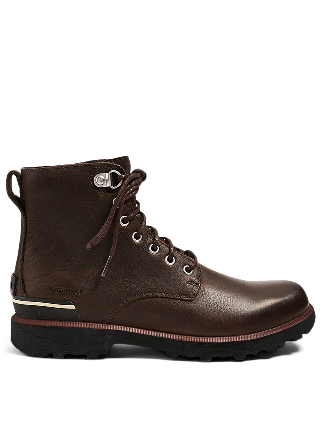 SOREL Bottines lacées Caribou Six en cuir Hommes Marron