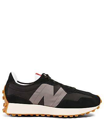 NEW BALANCE 327 Suede And Nylon Sneakers Men's Black