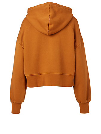 WON HUNDRED Lilou Oversized Cropped Hoodie Women's Brown
