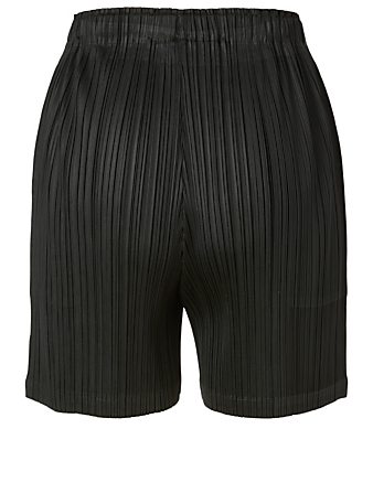PLEATS PLEASE ISSEY MIYAKE Monthly Colour June Shorts Women's Black
