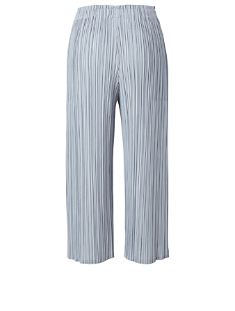 PLEATS PLEASE ISSEY MIYAKE Mellow Pleats Pants Women's Blue
