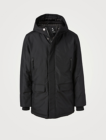 NORDEN Anderson Mid-Length Parka With Hood Men's Black