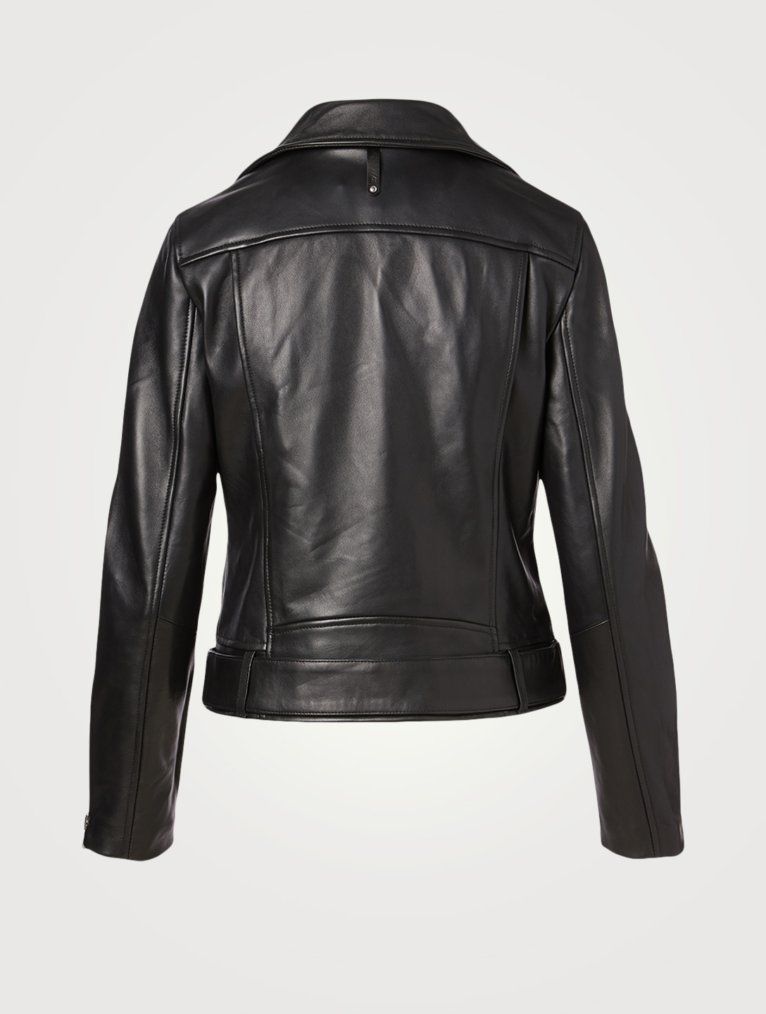 MACKAGE Kylie Leather Moto Jacket Women's Black