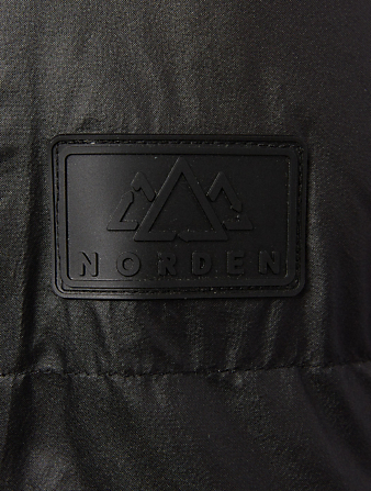 NORDEN Mia Cropped Puffer Jacket Women's Black