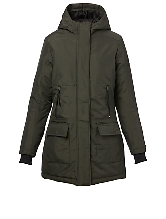 NORDEN Tova Oxford Parka With Hood Women's Green