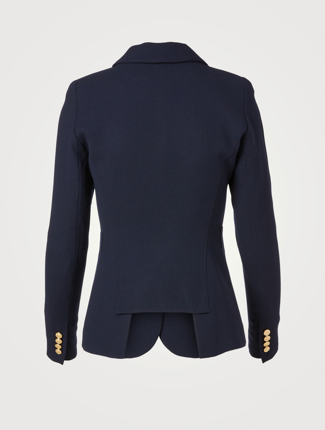 SMYTHE Duchess Wool Blazer Women's Blue