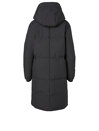 QUARTZ CO. Ines Down Jacket With Hood Women's Black