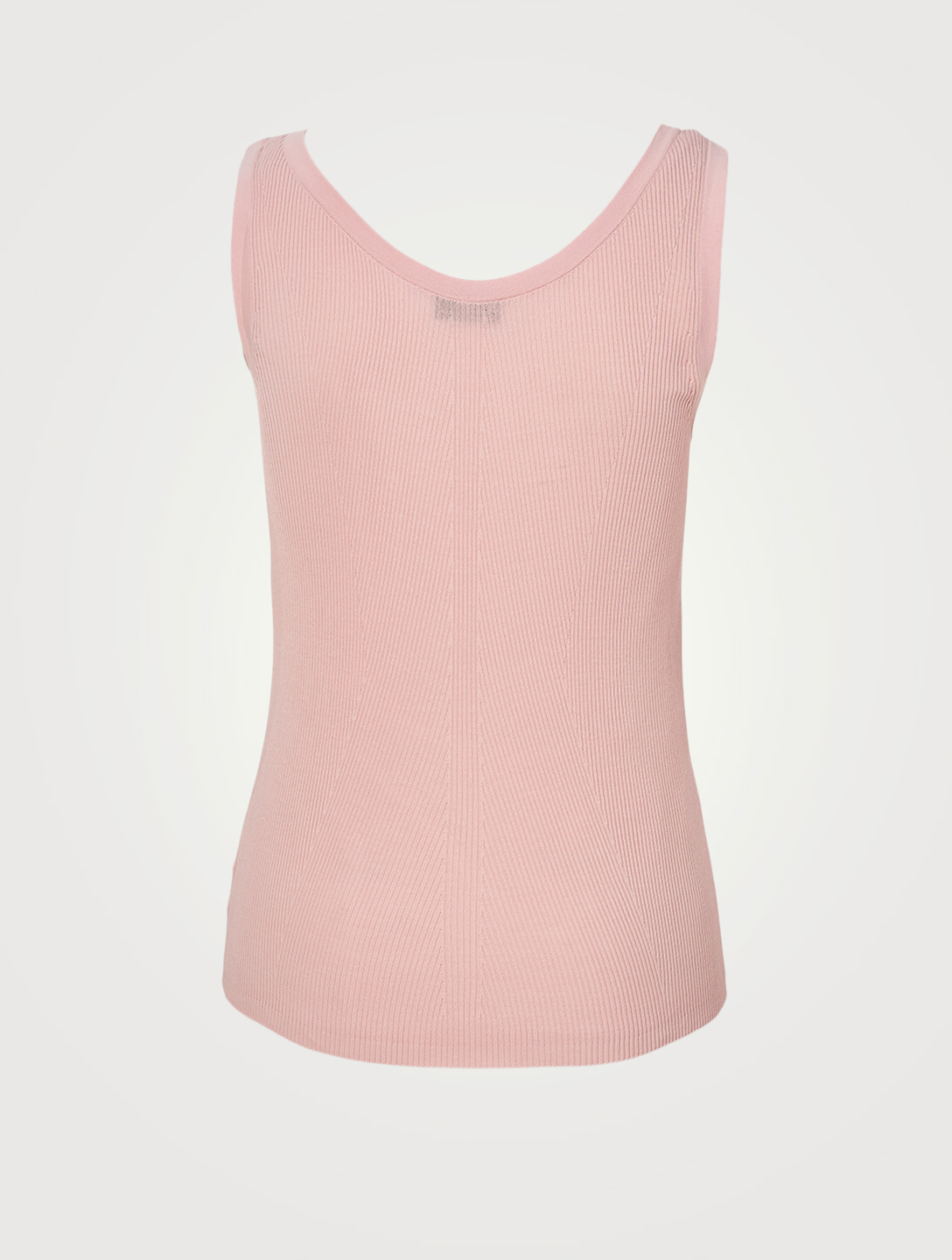 AKRIS Cotton Ribbed Tank Top Women's Pink