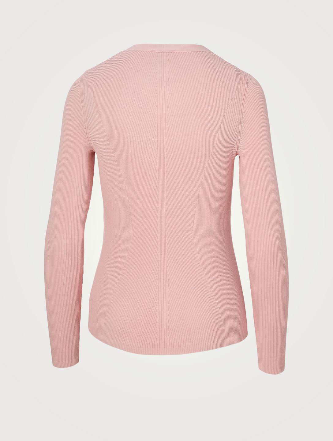 AKRIS Cotton Ribbed Cardigan Women's Pink