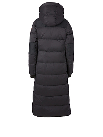 CANADA GOOSE Alliston Long Down Parka With Hood Women's Black