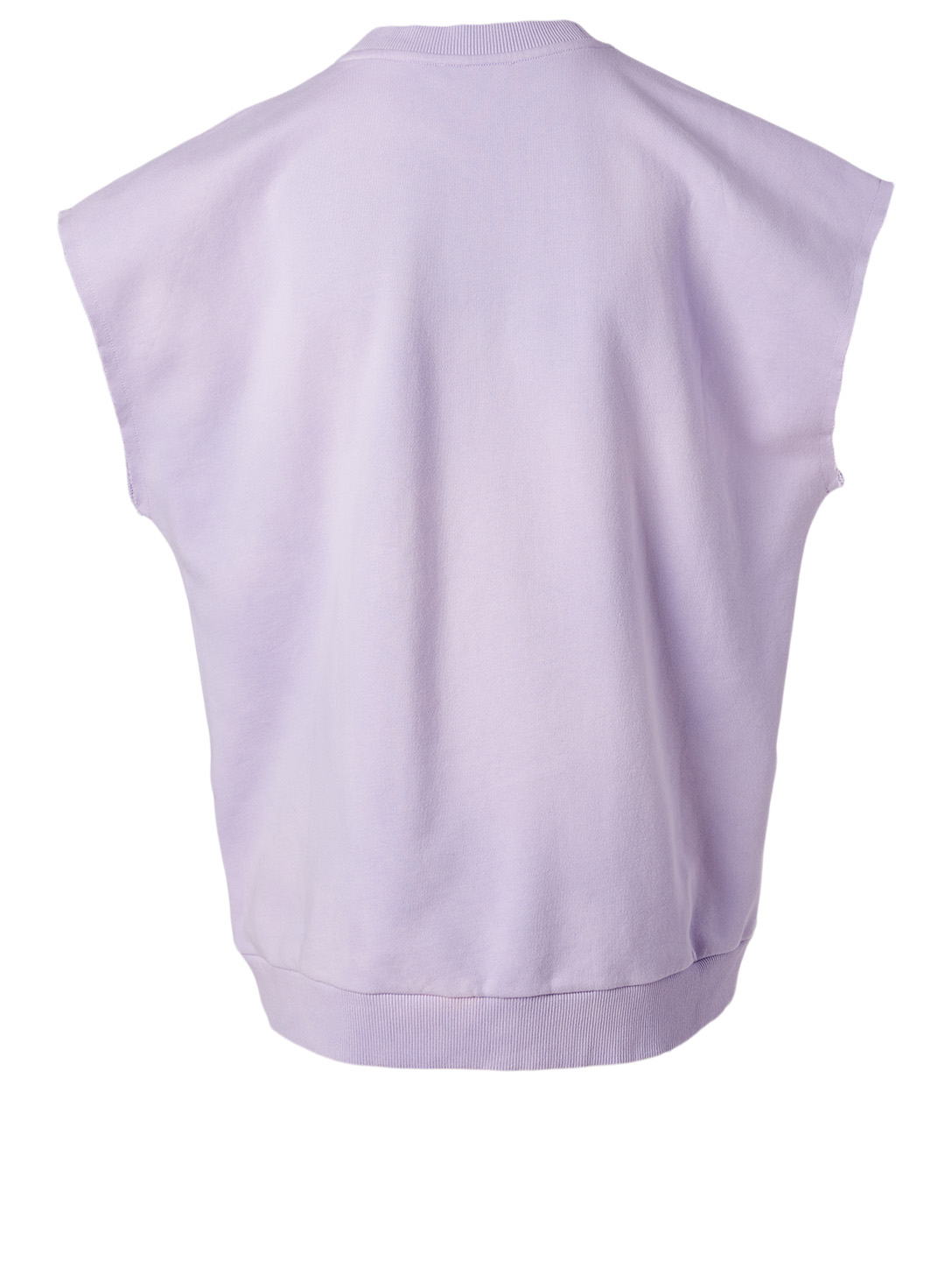 BALMAIN Sun-Bleached Cotton T-Shirt Women's Purple