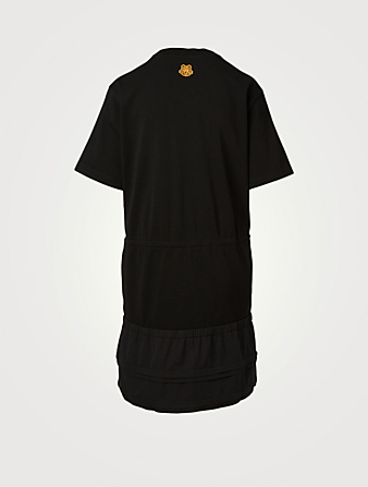 KENZO Kansai T-Shirt Dress Women's Black