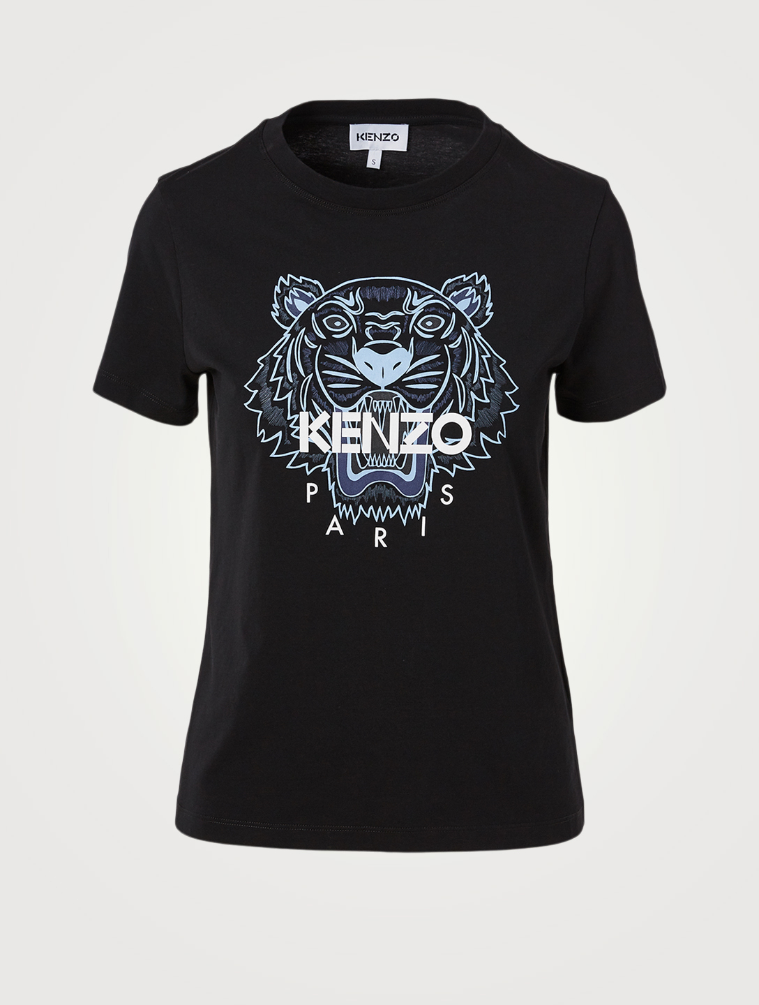KENZO Classic Tiger Cotton T-Shirt Women's Black