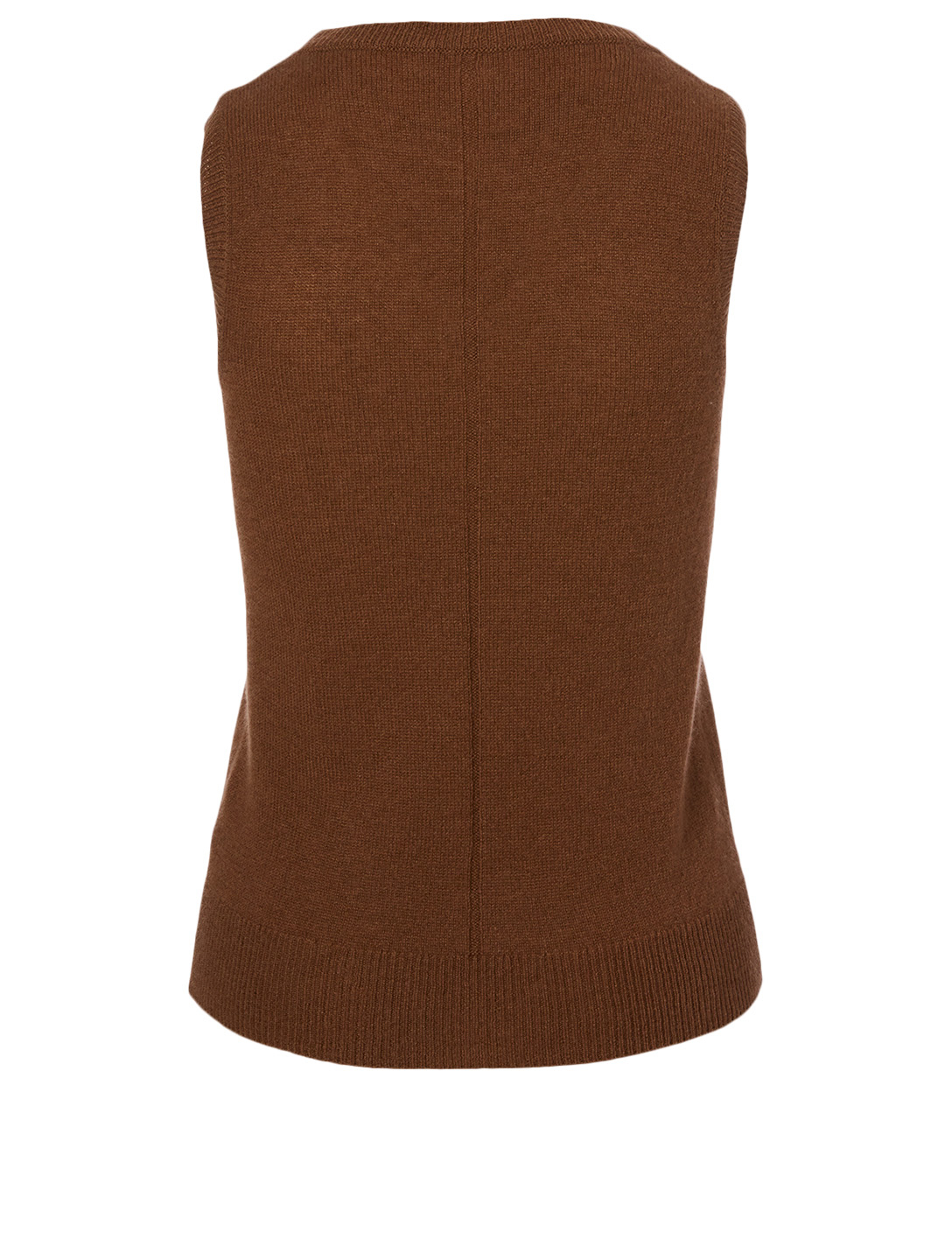 THE ROW Amalia Cashmere Sleeveless Top Women's Beige