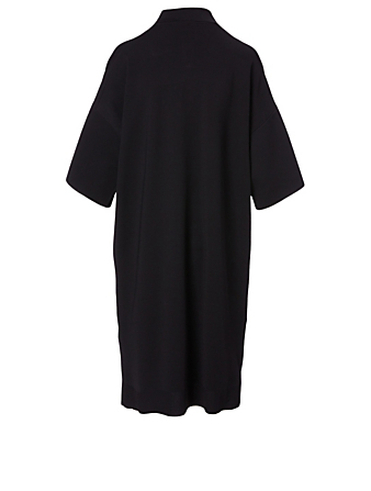 THE ROW Robe polo Aspen Femmes Noir