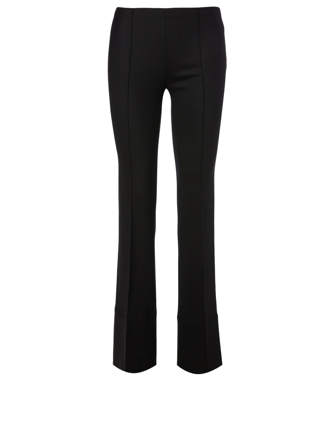 THE ROW Kriss Wool Stretch Pants Women's Black