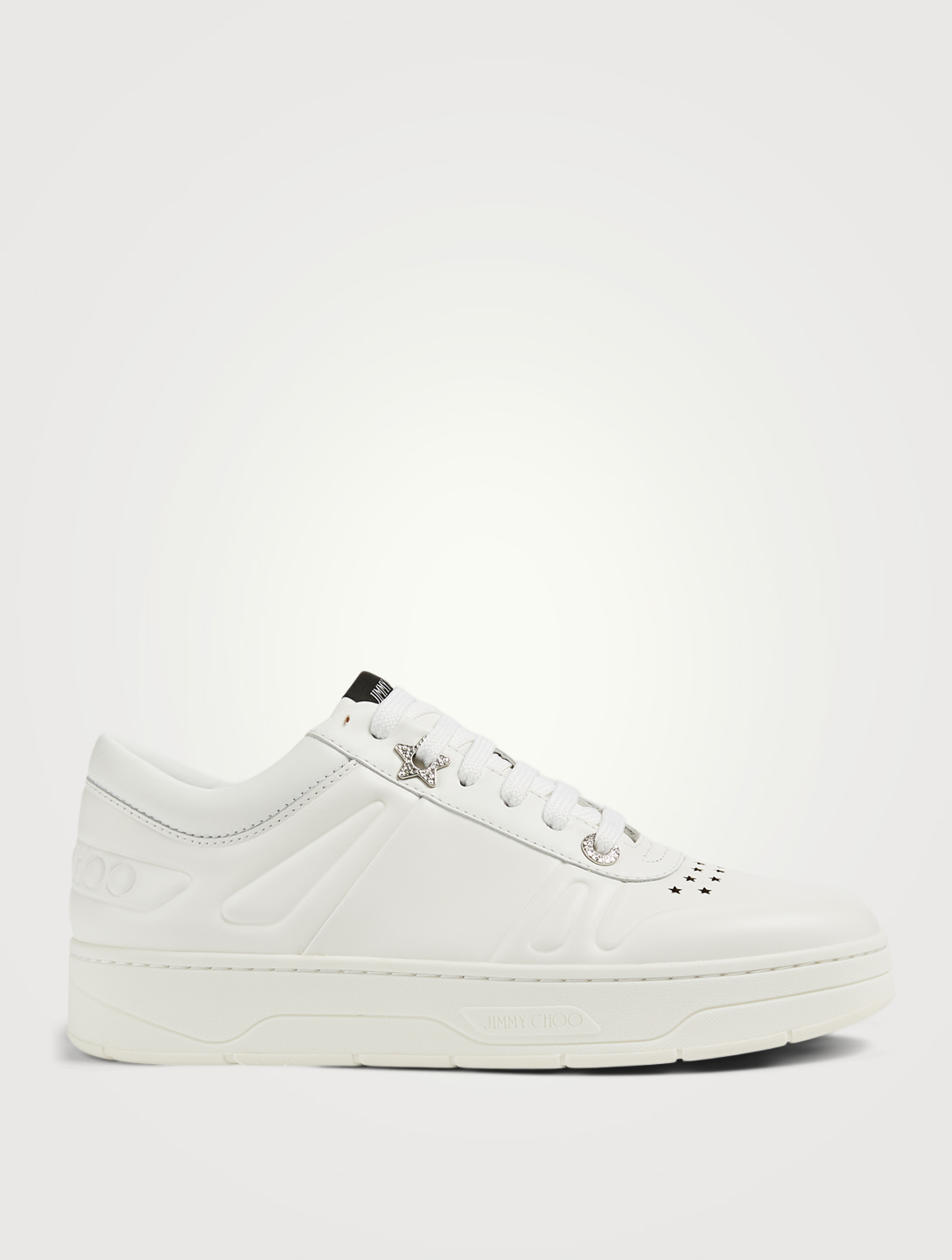 JIMMY CHOO Sneakers Hawaii/F en cuir Femmes Blanc