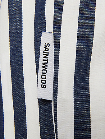 SAINTWOODS Holts x SW Pajama Pants Men's White