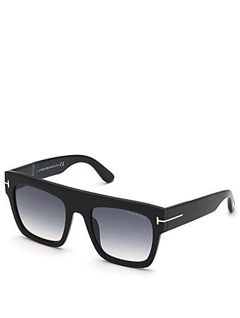 TOM FORD Renee Square Sunglasses Women's Black