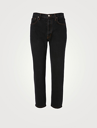STILL HERE Tate Original Crop Jeans Women's Black