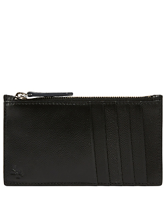 WANT LES ESSENTIELS Adana Zipped Leather Cardholder Women's Black