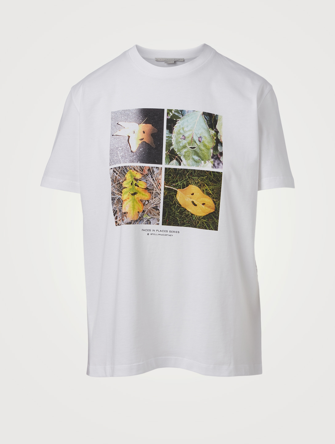 STELLA MCCARTNEY Faces In Places T-Shirt Women's White