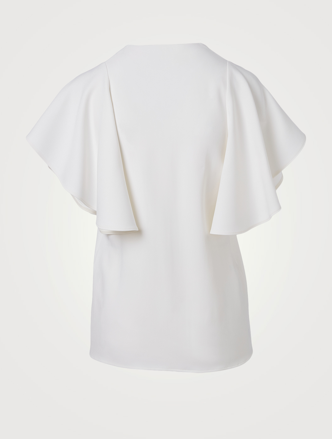 STELLA MCCARTNEY Mallory Stretch Cady Blouse Women's White
