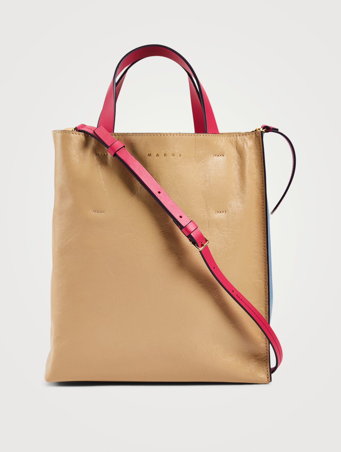 MARNI Small Museo Leather Bag Women's Multi