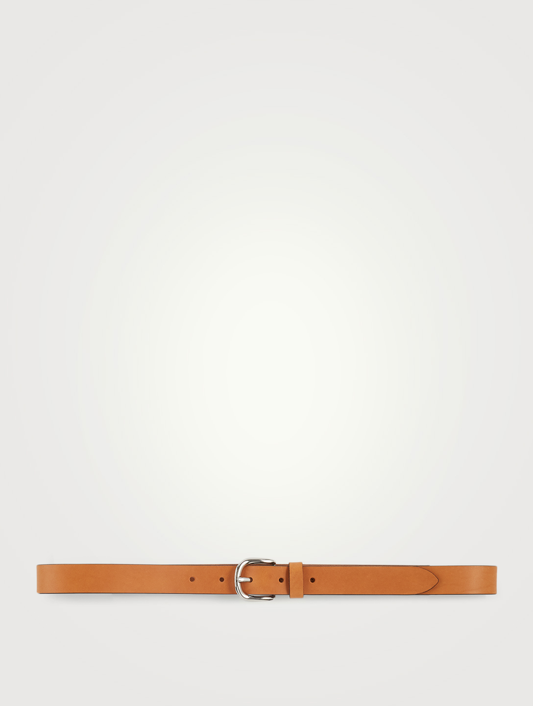 ISABEL MARANT Zap Leather Belt Women's Beige