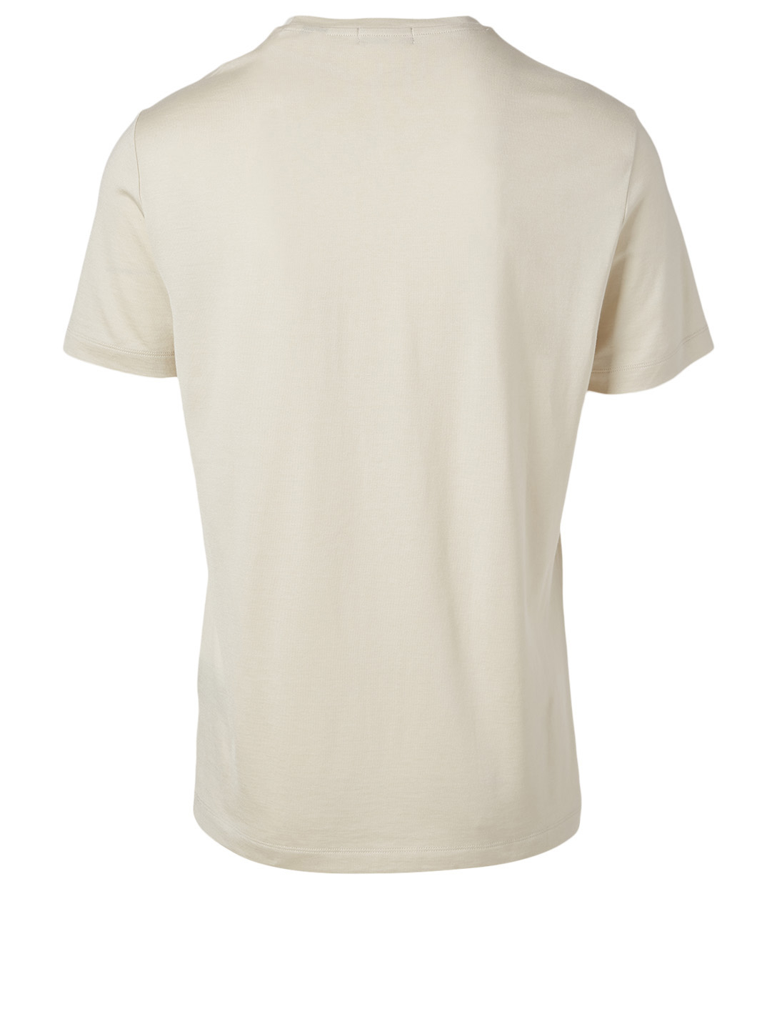 THEORY Clean Silk And Cotton T-Shirt Men's White