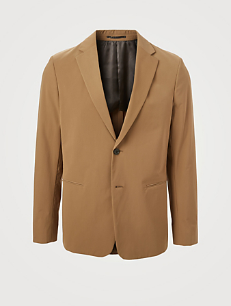 THEORY Precision Tech Unstructured Suit Jacket Men's Beige