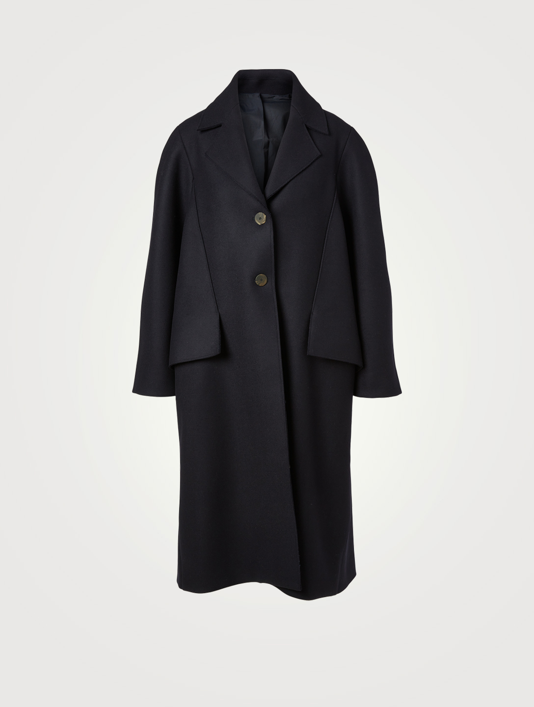 STUDIO NICHOLSON Christensen Wool-Blend Oversized Coat Women's Blue