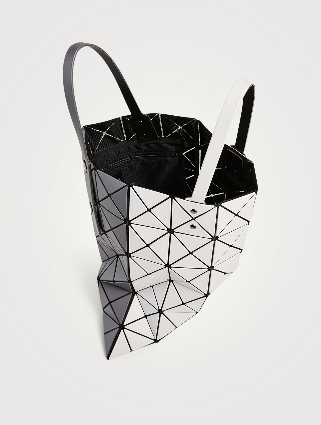 BAO BAO ISSEY MIYAKE Fourre-tout bicolore Lucent Femmes Gris