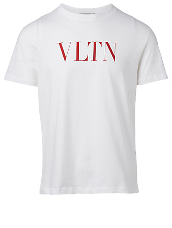 VALENTINO VLTN Cotton T-Shirt Men's White