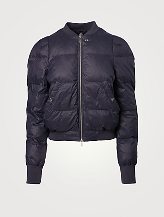 ISABEL MARANT ÉTOILE Cody Quilted Puffer Jacket Collections Blue
