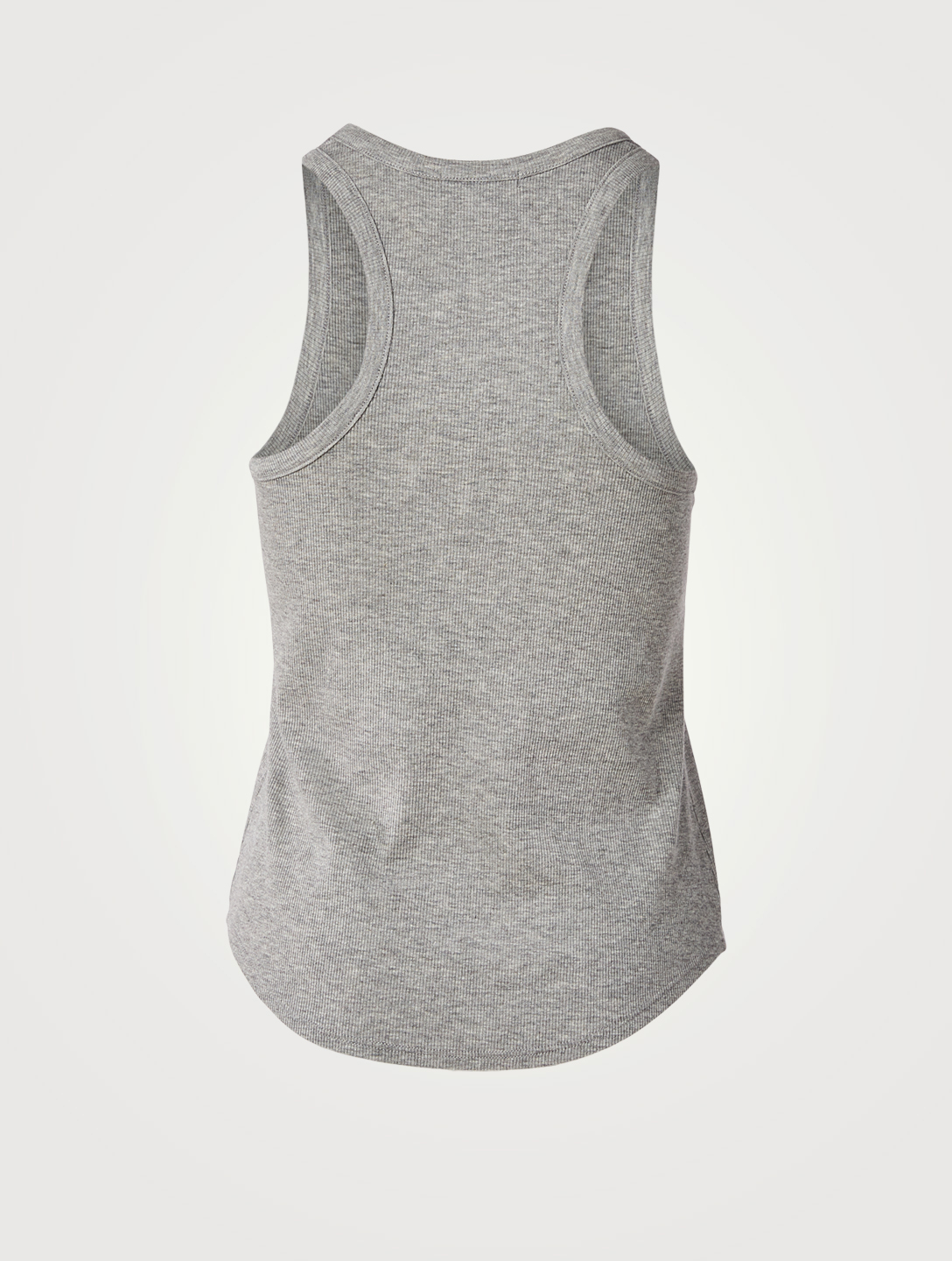 BEYOND YOGA Keep In Line Ribbed Tank Top Women's Grey