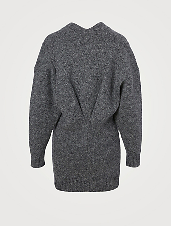 ISABEL MARANT ÉTOILE Moana Wool-Blend Cardigan Women's Grey