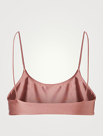 JADE SWIM Muse Scoop Bikini Top H Project Pink