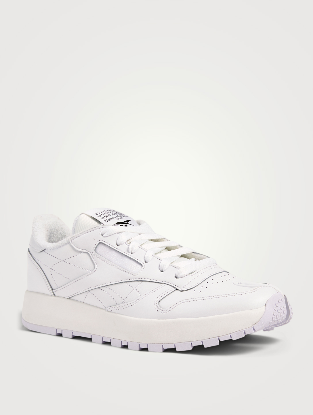 MAISON MARGIELA X REEBOK MAISON MARGIELA X REEBOK Project 0 CL Tabi Leather Sneakers Women's White
