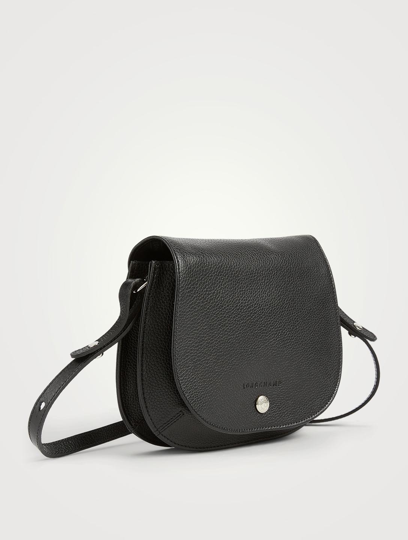 LONGCHAMP Small Le Foulonné Leather Crossbody Bag | Holt Renfrew ...