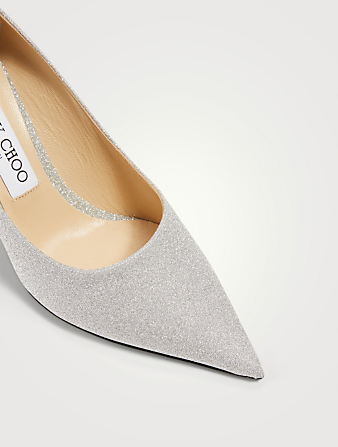 JIMMY CHOO Escarpins Love 85 scintillants Femmes Métallique