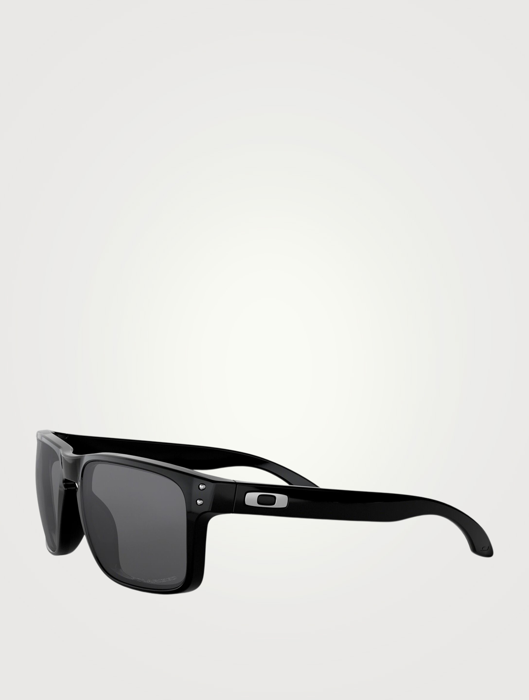 OAKLEY Holbrook Polarized Square Sunglasses Men's Black