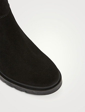 LA CANADIENNE Storm Suede Ankle Boots Women's Black
